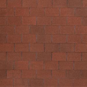 Гибкая черепица Tegola Nobil Tile Лофт Красно-коричневый