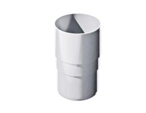 Муфта трубы соединительная Verat Технониколь 125/80 Белый