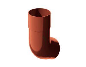 Колено трубы 135˚ Verat Технониколь 125/80 Красный