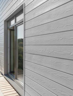 Сайдинг фиброцементный Cedral Click Wood Серый минерал С05
