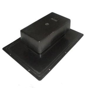Кровельный вентилятор (аэратор) Тегола Специальный черный