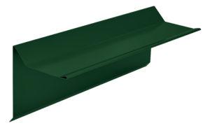 Планка торцевая фронтонная S5 Pe RAL6005