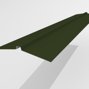 Конек угловой для металлочерепицы Pe Ral 6415 165*25*165 мм