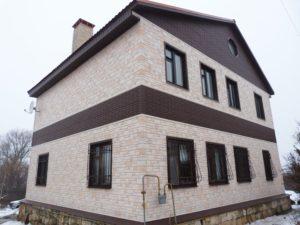 Фасадная панель Docke R Burg Leinburg Льняной