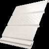 Софит Ю-Пласт Белый с центральной перфорацией