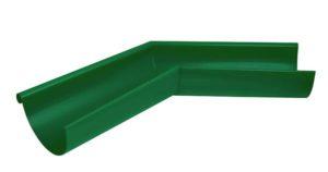 Угол желоба внешний 135° Aquasystem 125/90 RAL6005 Зеленый