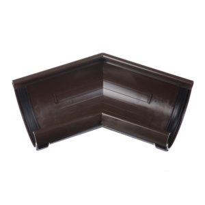 Угол желоба 135˚ Docke LUX 141/100 Шоколад