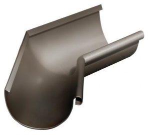 Угол желоба внутренний 135° Grand Line 125/90 RR 32 Темно-коричневый