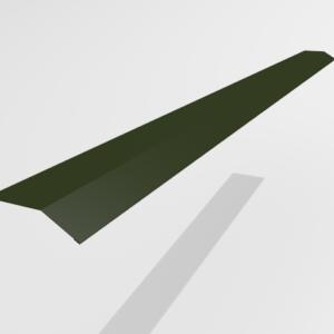 Планка карнизная (капельник) для металлочерепицы Pe Ral 6415