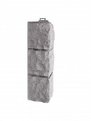 Угол наружный Фасайдинг Дачный Доломит Светло-серый
