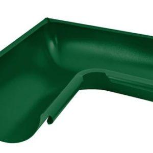 Угол желоба внутренний 90° Aquasystem 125/90 RAL6005 Зеленый