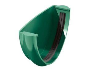 Заглушка желоба Verat Технониколь 125/80 Зеленый