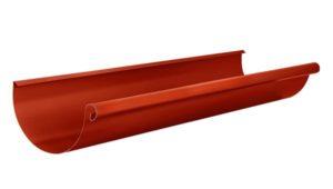 Желоб полукруглый 3м Aquasystem 125/90 RR29 Красный