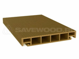 Террасная Доска Savewood SALIX Тик, 3м
