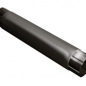 Труба соединительная 1м Grand Line 125/90 RR 32 Темно-коричневый