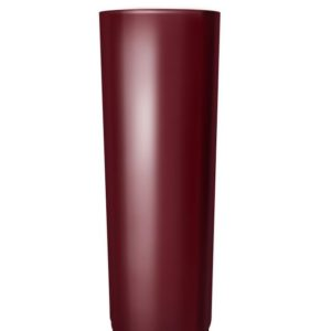 Труба водосточная 3м Grand Line 125/90 RAL 3005 Красное вино