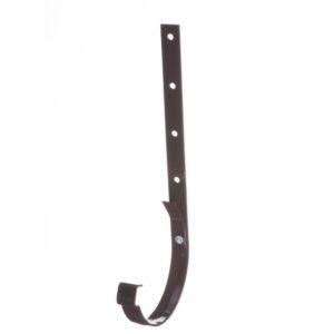Кронштейн желоба металлический Docke LUX 141/100 Шоколад, 300мм