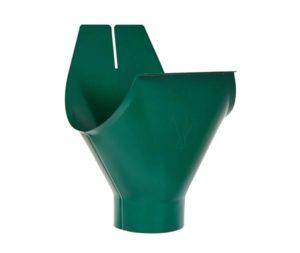 Воронка желоба Aquasystem 125/90 RAL6005 Зеленый