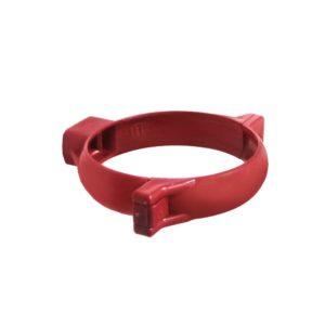 Хомут трубы Murol (Eslon) красный
