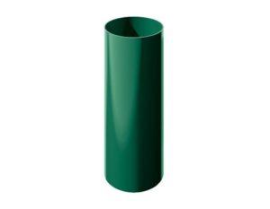 Труба водосточная Verat Технониколь 125/80 Зеленый глянец, 3 м