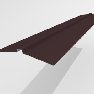 Конек угловой для металлочерепицы Pe Ral 8477 165*25*165 мм