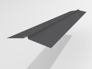 Конек угловой для металлочерепицы Pe Ral 7024 165*25*165 мм