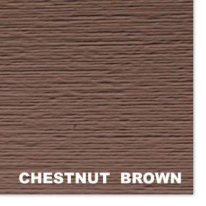 Сайдинг виниловый Mitten Sentry Chestnut Brown D4.5