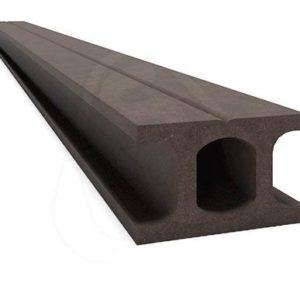 Лага монтажная (универсальная) Savewood Темно-коричневая, 4м (49мм Х 33мм)