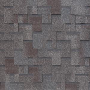 Гибкая черепица Tegola Nobil Tile Акцент Серо-коричневый