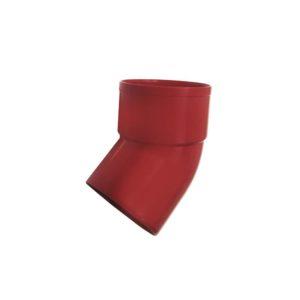 Колено выпуска 67° Murol (Eslon) красное