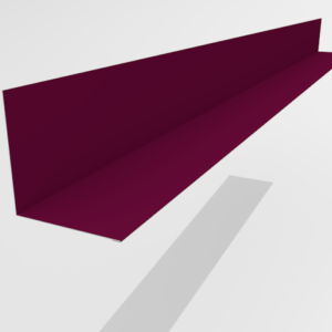 Планка примыкания для металлочерепицы Pe Ral 3005