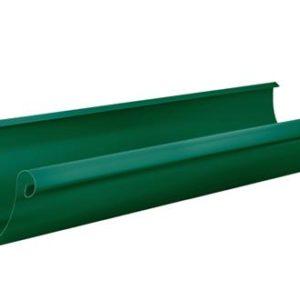 Желоб полукруглый 3м Aquasystem 125/90 RAL6005 Зеленый