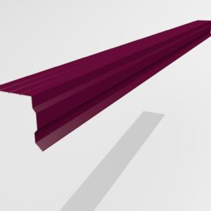 Планка торцевая (ветровая) для металлочерепицы Pe Ral 3005