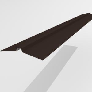 Конек угловой для металлочерепицы Pe Ral 8019 113*25*113 мм