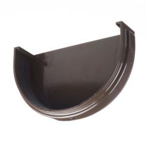 Заглушка желоба Docke Premium 120/85 Шоколад