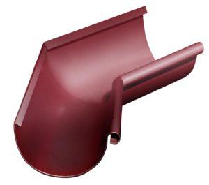 Угол желоба внутренний 135° Grand Line 125/90 RAL 3005 Красное вино