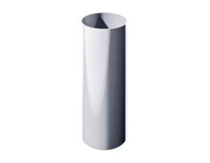 Труба водосточная Verat Технониколь 125/80 Белый, 1,5 м