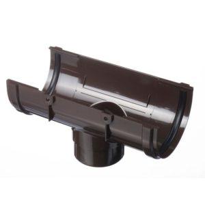 Воронка желоба Docke Premium 120/85 Шоколад