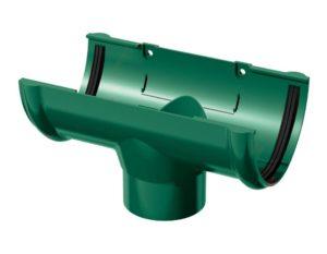 Воронка желоба Verat Технониколь 125/80 Зеленый