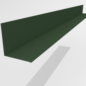 Планка примыкания для металлочерепицы Pe Ral 6005