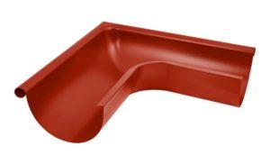 Угол желоба внешний 90° Aquasystem 125/90 RR29 Красный