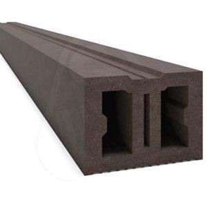 Лага монтажная (опорная) Savewood Темно-коричневая, 4м (50мм Х 40мм)