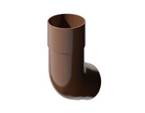 Колено трубы 135˚ Verat Технониколь 125/80 Коричневый