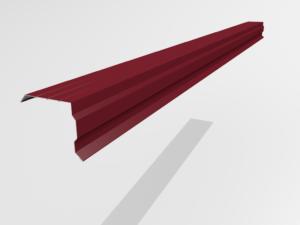 Планка торцевая (ветровая) для металлочерепицы Pe Ral 3257