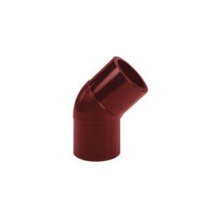 Колено соединения 67° Murol (Eslon) красное