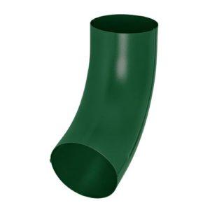 Колено трубы универсальное Aquasystem 125/90 RAL6005 Зеленый