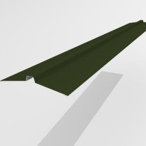 Конек угловой для металлочерепицы Pe Ral 6415 113*25*113 мм