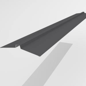 Конек угловой для металлочерепицы Pe Ral 7024 113*25*113 мм