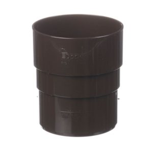Муфта трубы соединительная Docke Premium 120/85 Шоколад