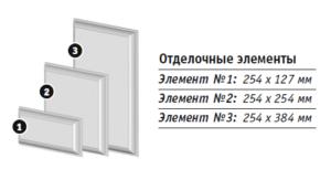 """Система отделки Углов """"Альта-Декор"""" Отделочный элемент №1 Коричневый"""